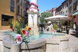 Vence et ses fontaines